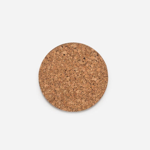 Citta Layer Round Cork Coaster Natural