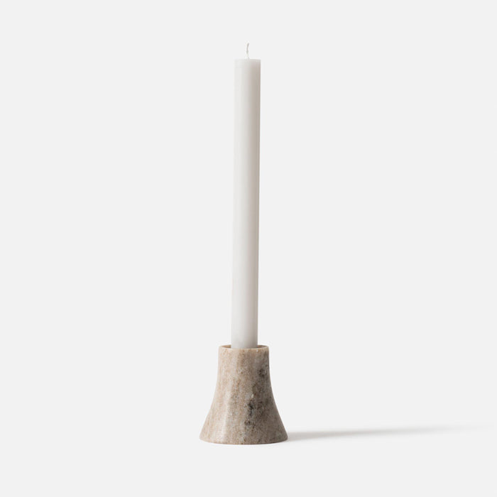 Citta Flare Candle Holder Natural