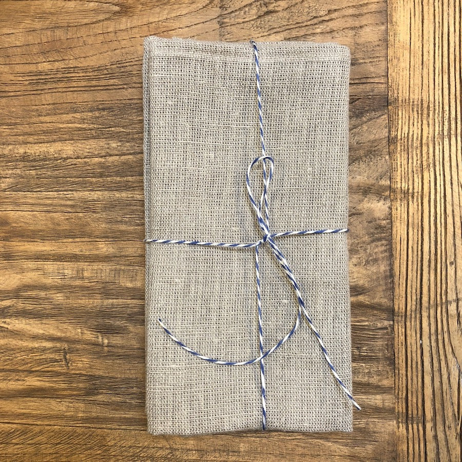 Raw Linen Napkins