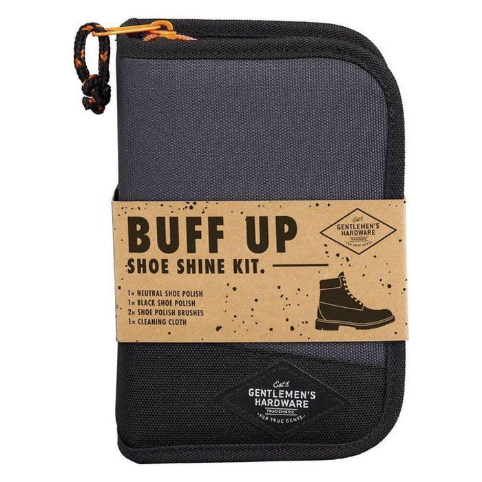 Gentlemen's Hardware Buff Up Shoe Shine Kit