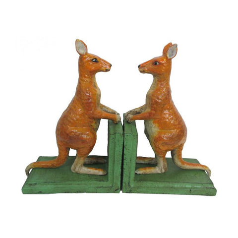 Kangaroo Bookends