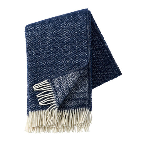 Klippan Lambswool Throw Hekla Denim