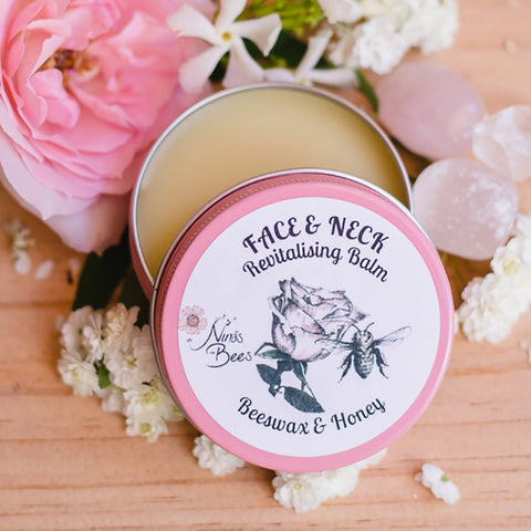 Nina's Bees Revitalising Beeswax Balm for Face & Neck