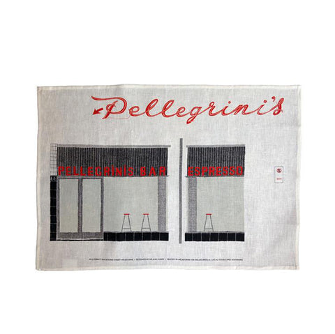 Pellegrini's Tea Towel