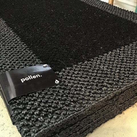 Polypropylene All Weather Doormat 60cm x 90cm Black