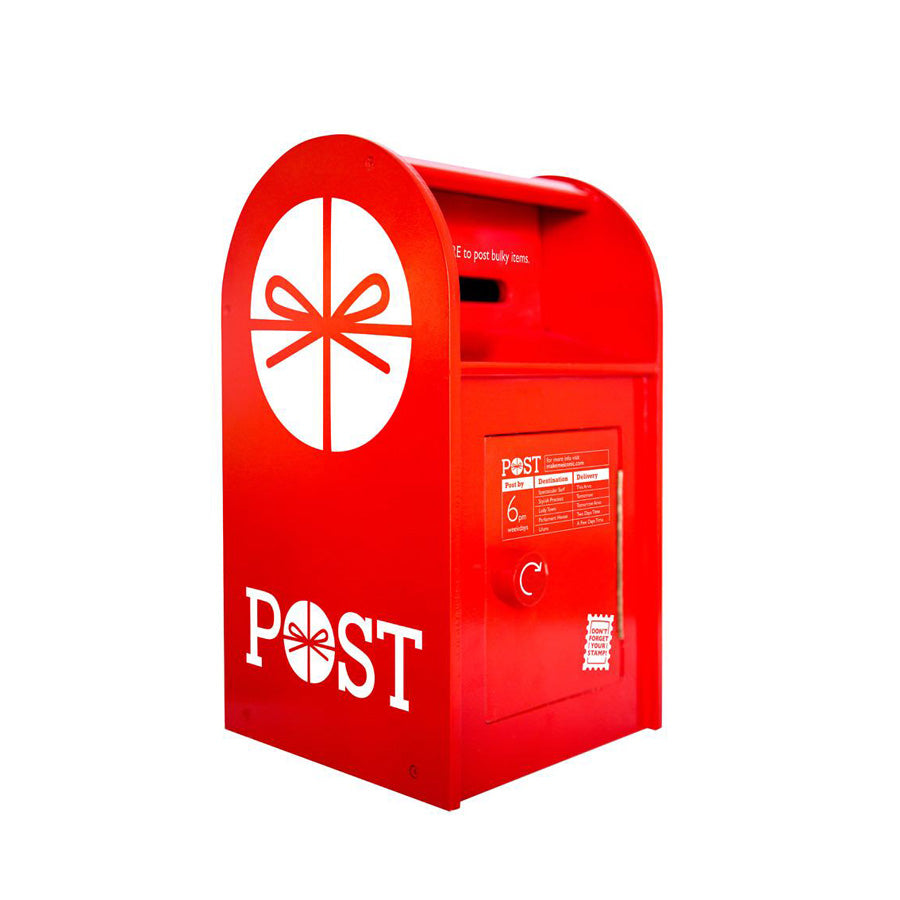 Post Box Wooden by Make Me Iconic