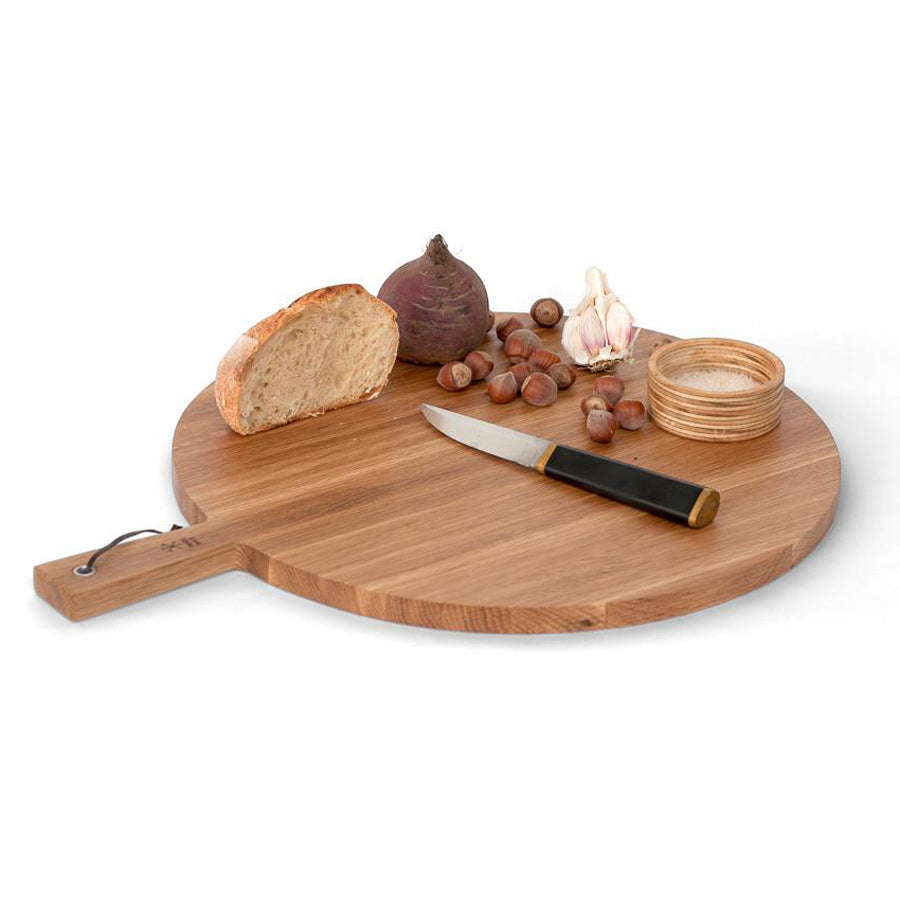Sands Made Cheese Paddle No. 7 Round Cheese Board