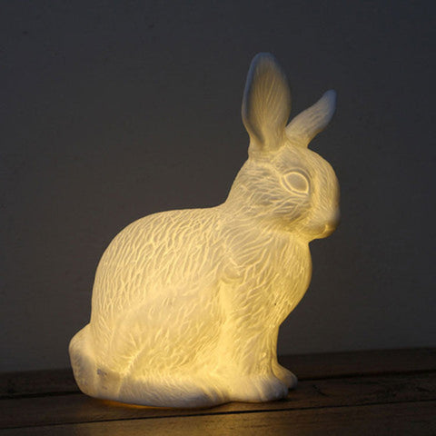 Bone China Lamp Small Bunny Rabbit Jones & Co