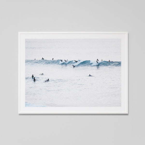 Sunset Surfers Art Print Warranbrooke