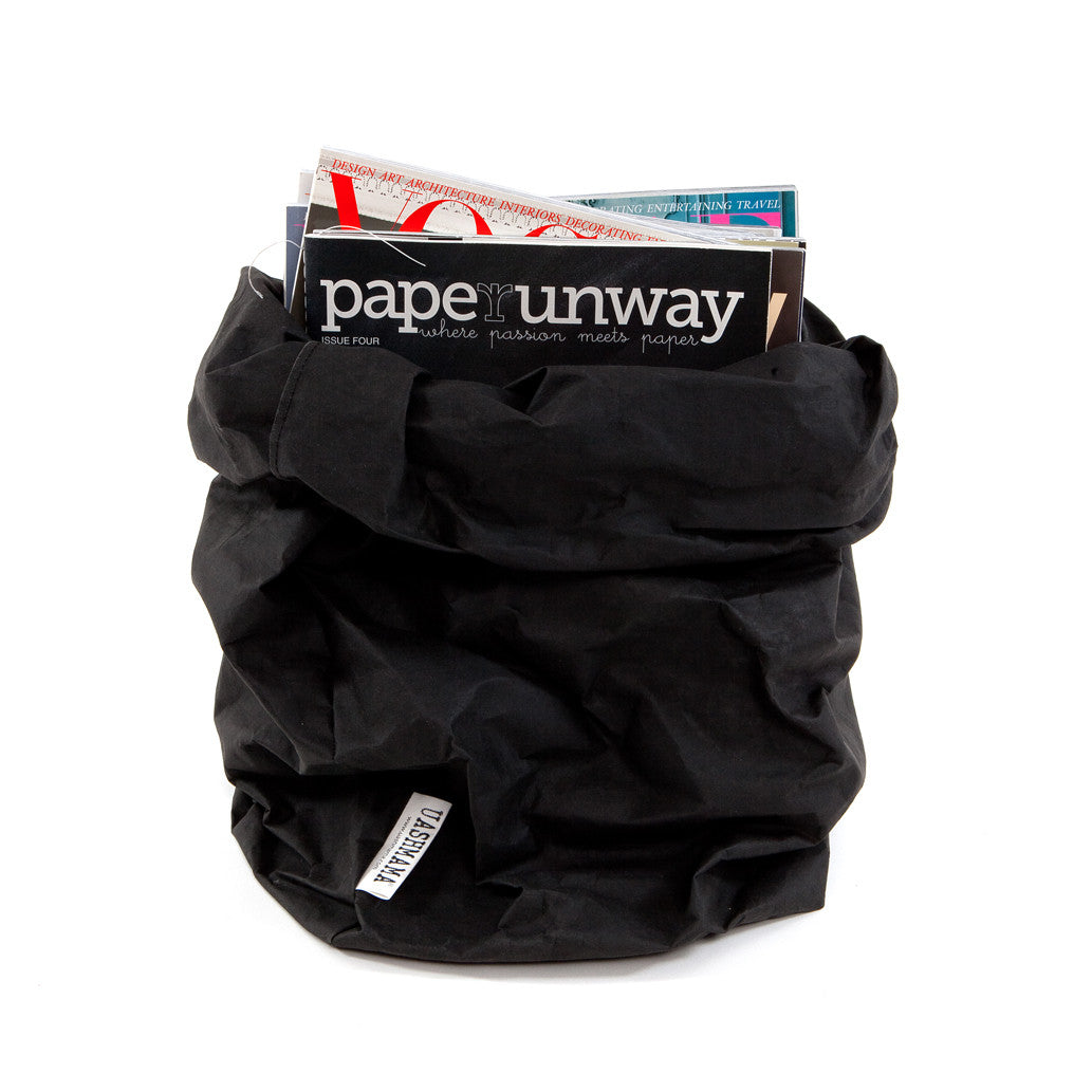 Uashmama Paper Bag Black