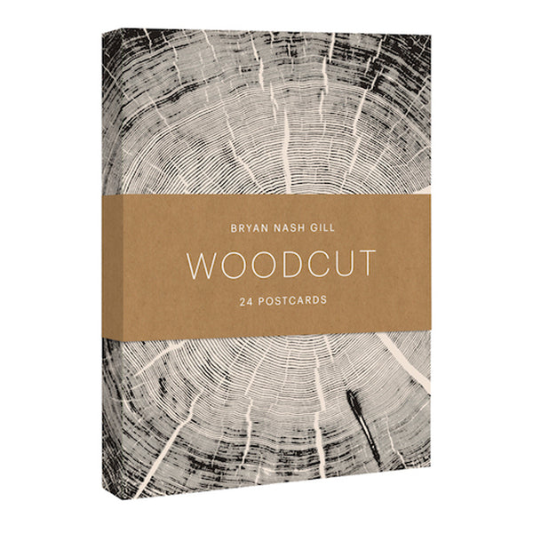 Woodcut Postcards Pack of 24