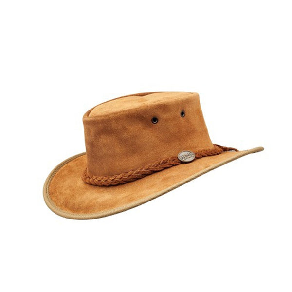 Foldaway Suede Hat Hickory