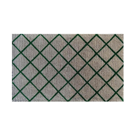 Trellis Doormat Green