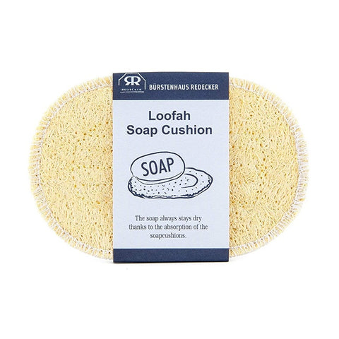 Redecker Loofah Soap Cushion Oval