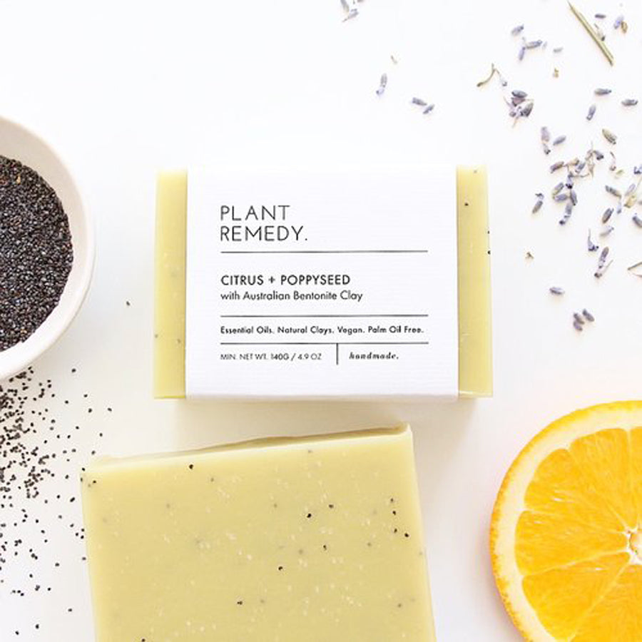 Plant Remedy Citrus Poppyseed Soap