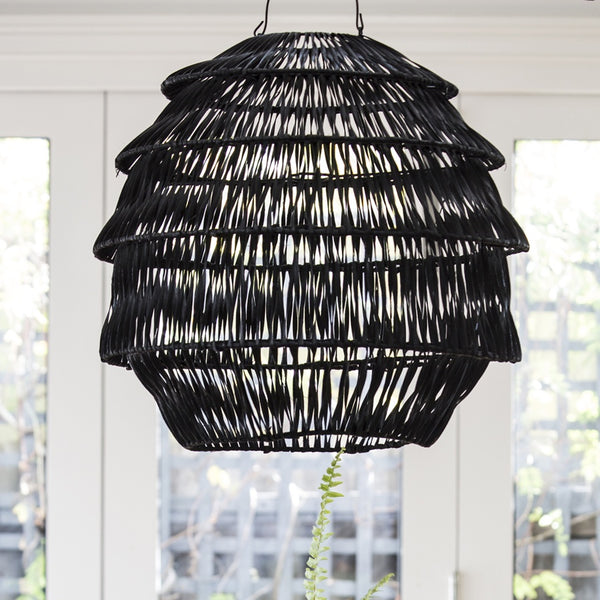 Hanging Lamp Shade Black