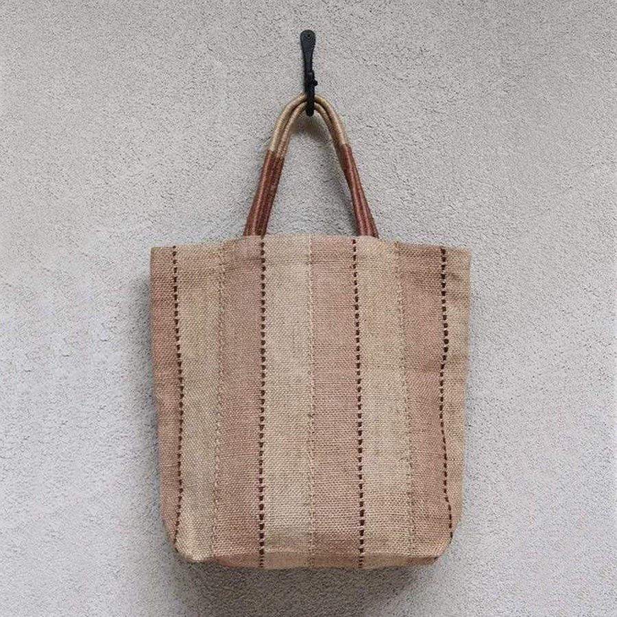Dharma Door Jute Shopper Clay