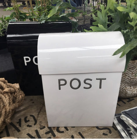 Post Box White
