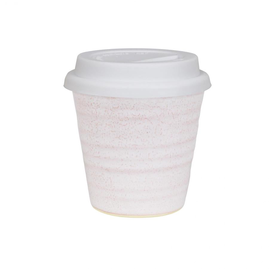 Reusable Pottery Coffee Cup