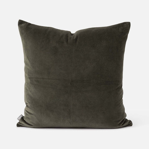 Citta Cotton Velvet Cushion Nori 55x55cm