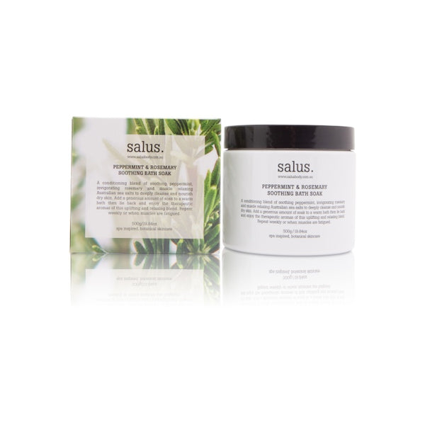Salus Peppermint & Rosemary Soothing Bath Soak