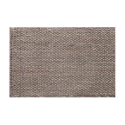 Panama Jute Mat w Rubber Backing Natural 60cmx 90cm