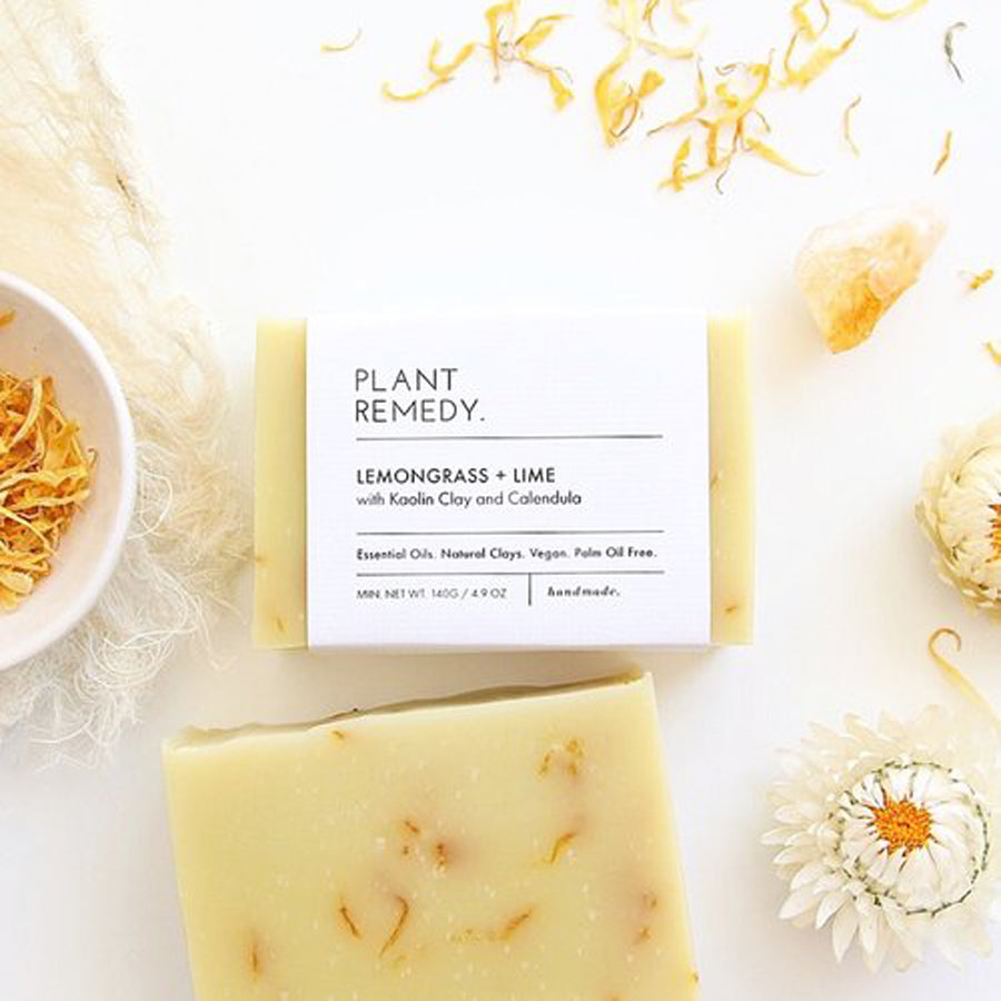 Plant Remedy Lemongrass Lime Soap