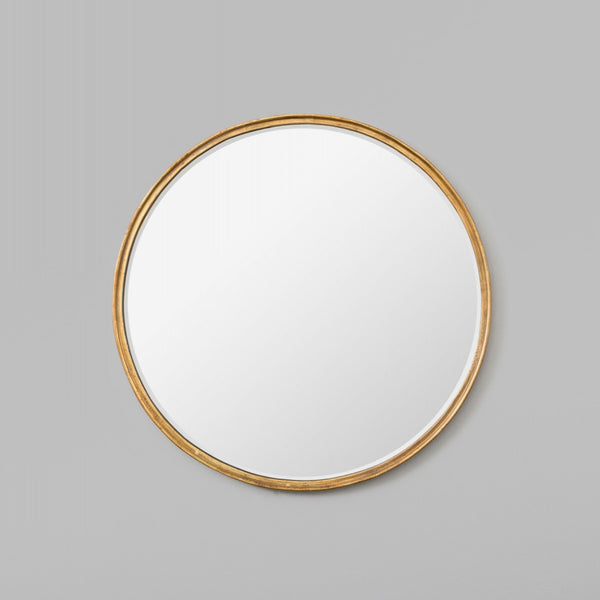 Looking Glass Mirror Antique Gold 76cm