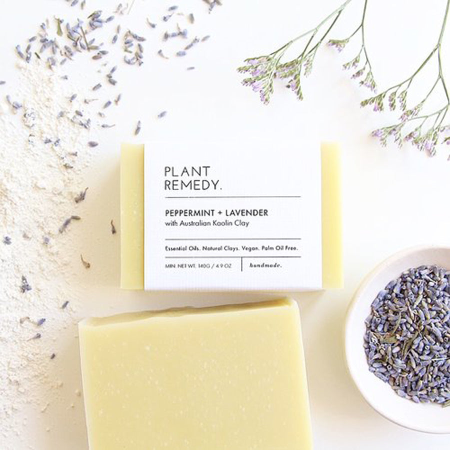 Plant Remedy Peppermint Lavender Soap