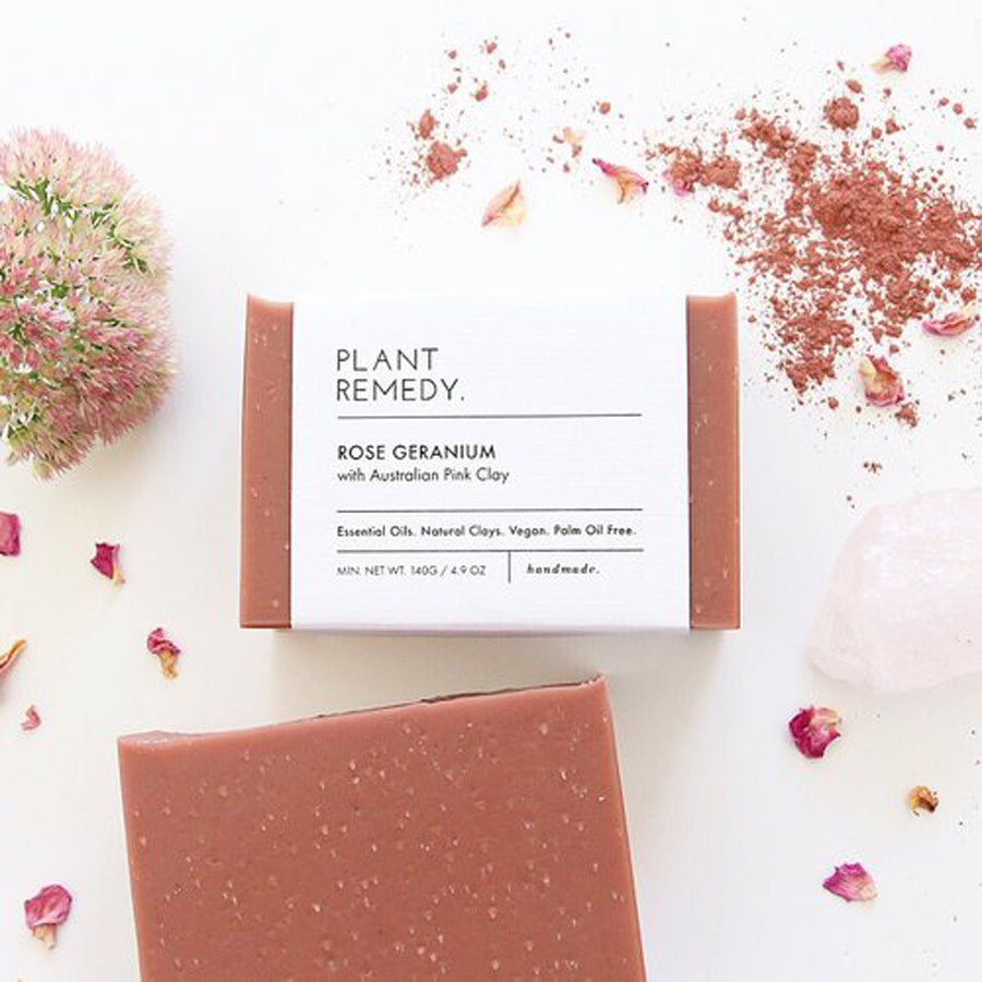 Plant Remedy Rose Geranium Soap