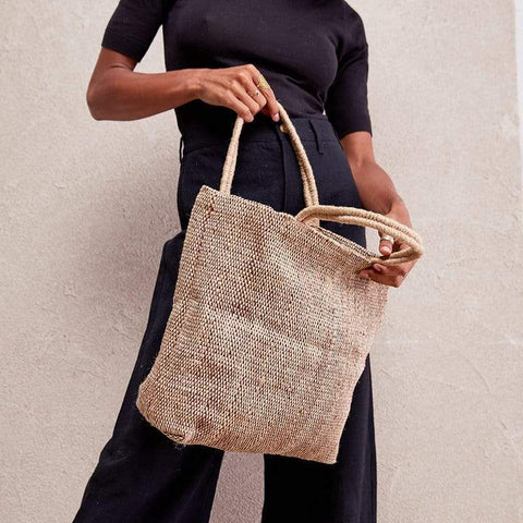 Dharma Door Jute Tantu Shopper - Natural