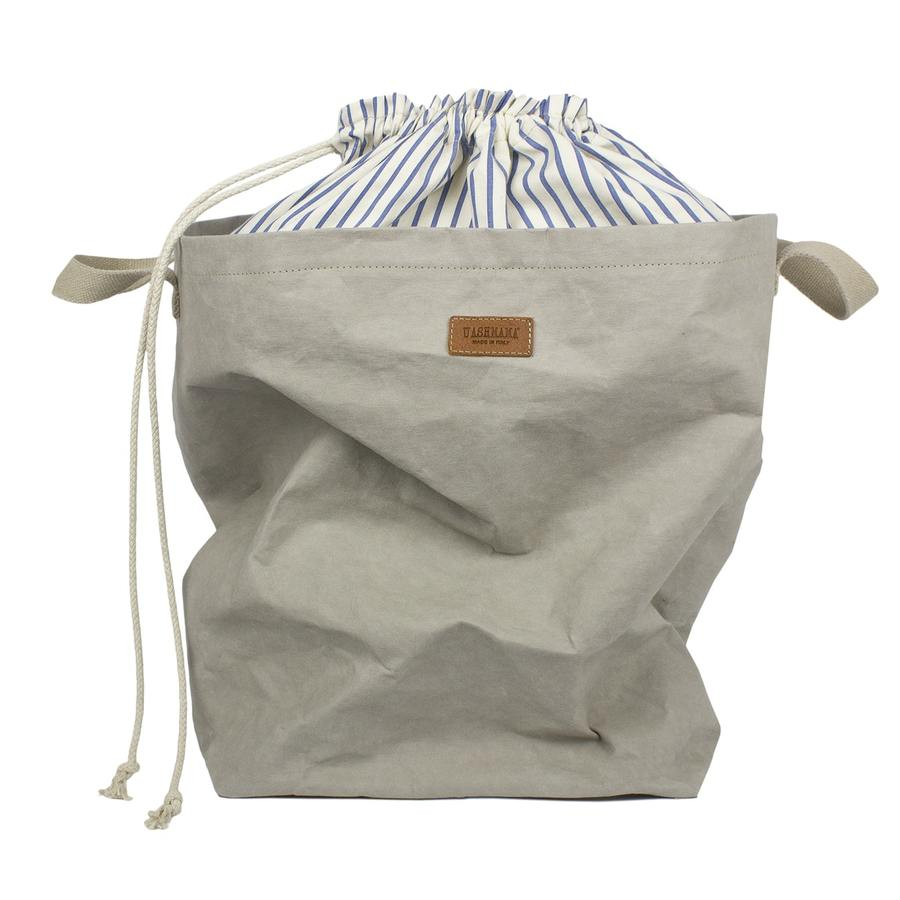 Grey Laundry Bag