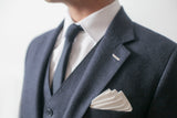 HANKY Structured Pocket Square and Comb