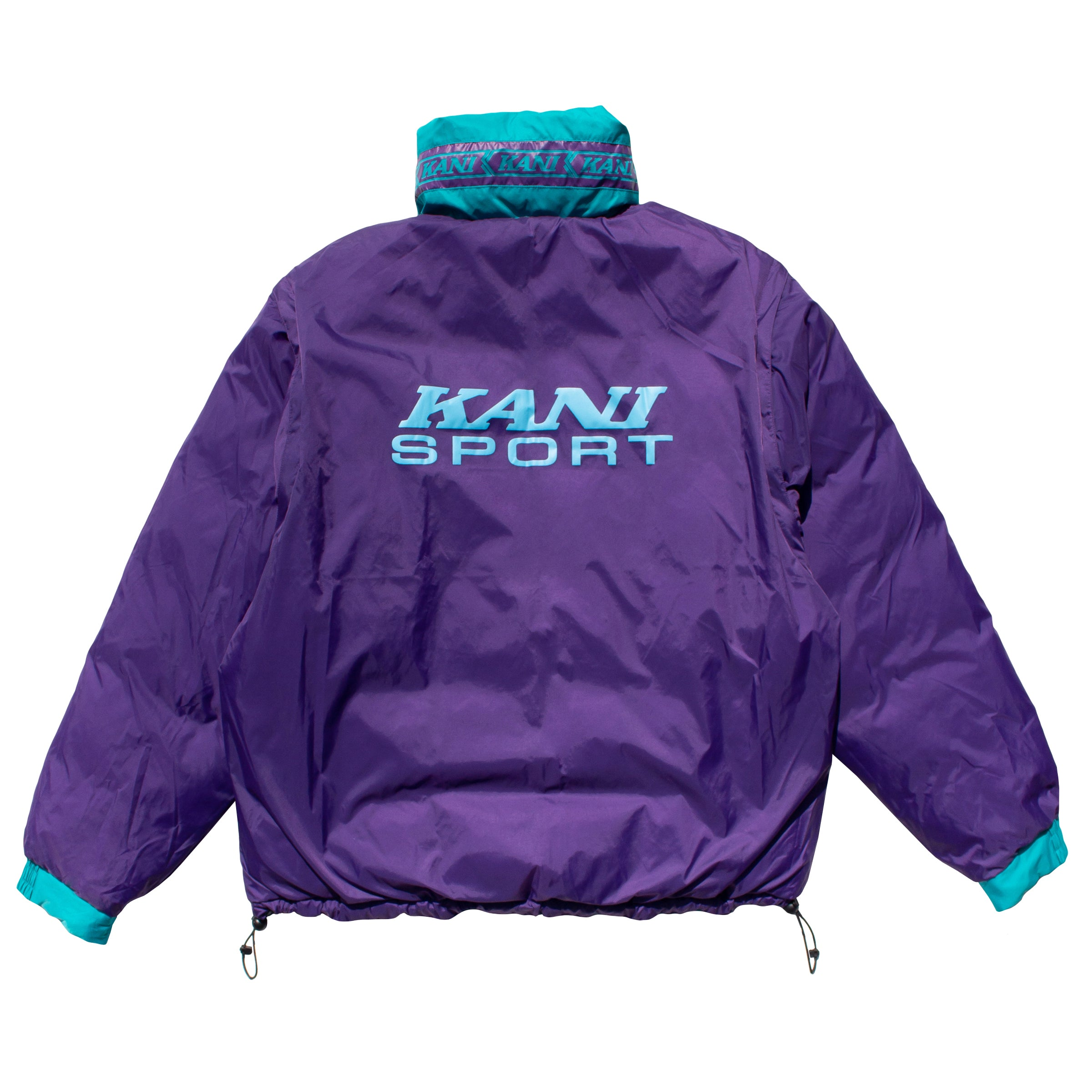 Kani Bubble Coat (Teal)