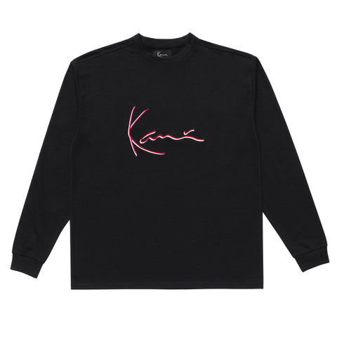 Iconic Long Sleeve (Black)
