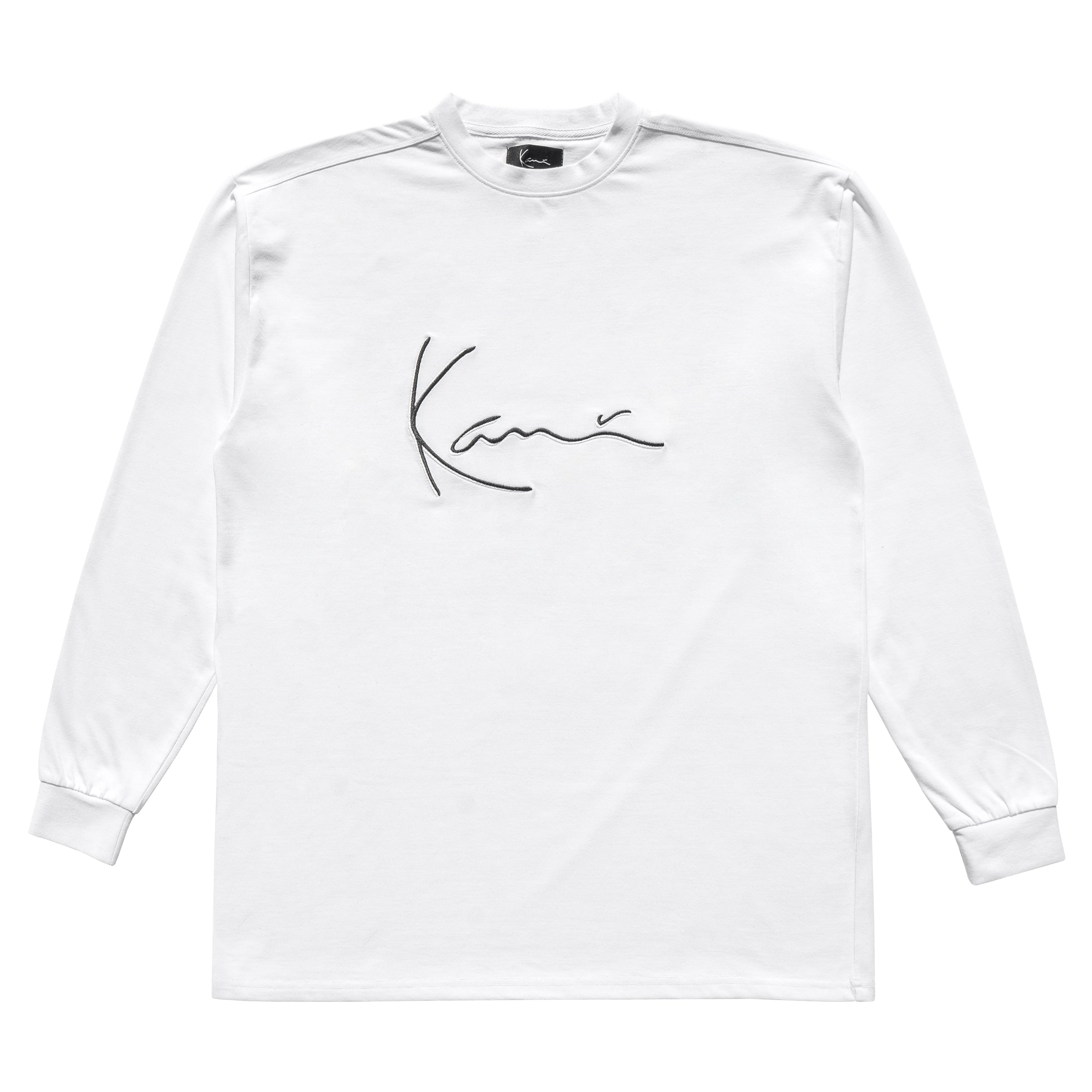 Iconic Long Sleeve (White)