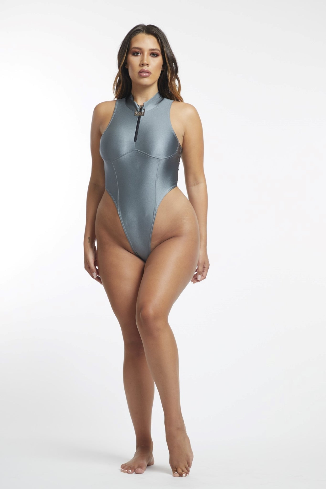 Redemption Body Suit (Silver)