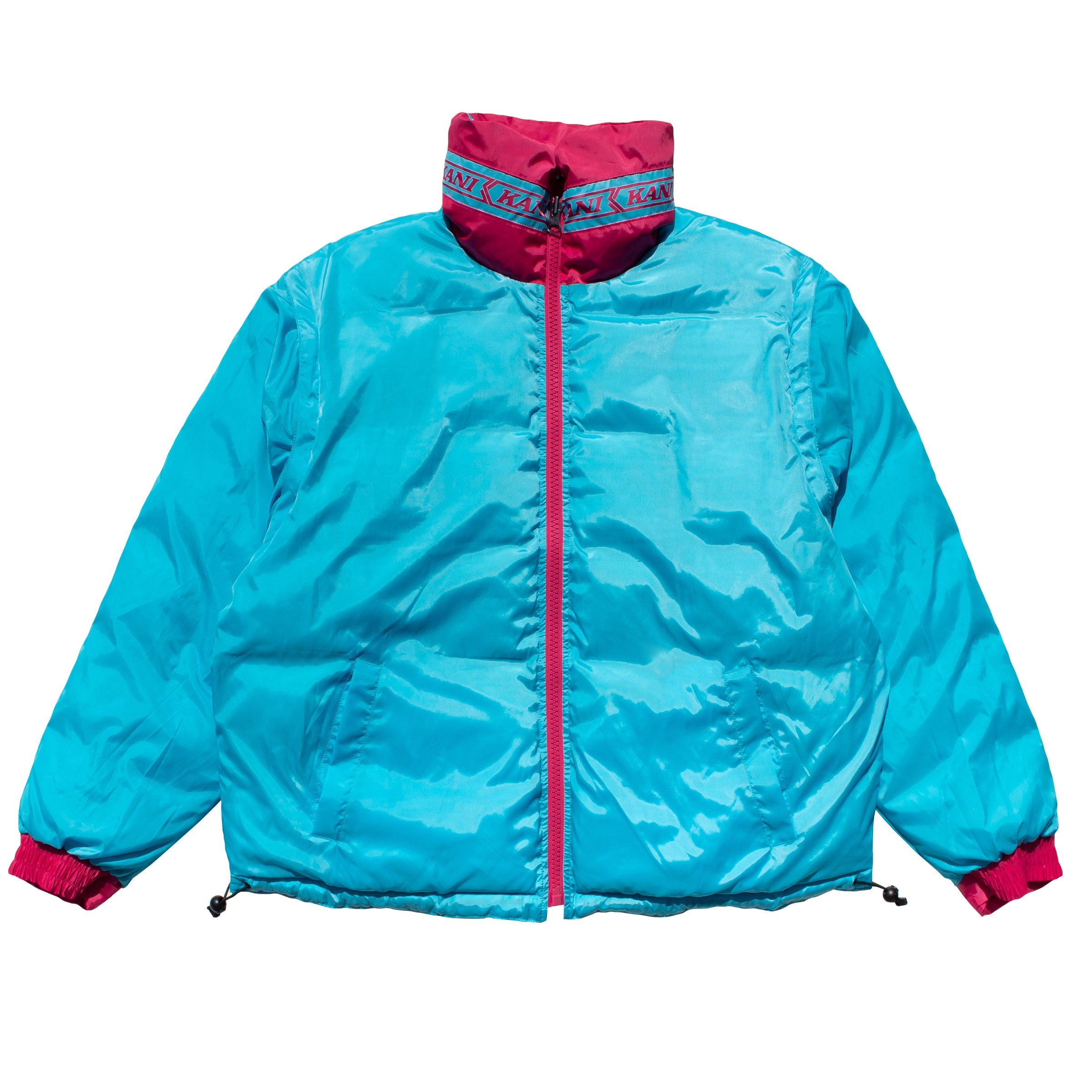 Kani Bubble Coat (Fuschia)