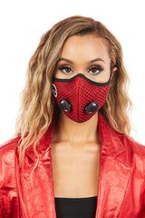 Womens Face Mask (Red)
