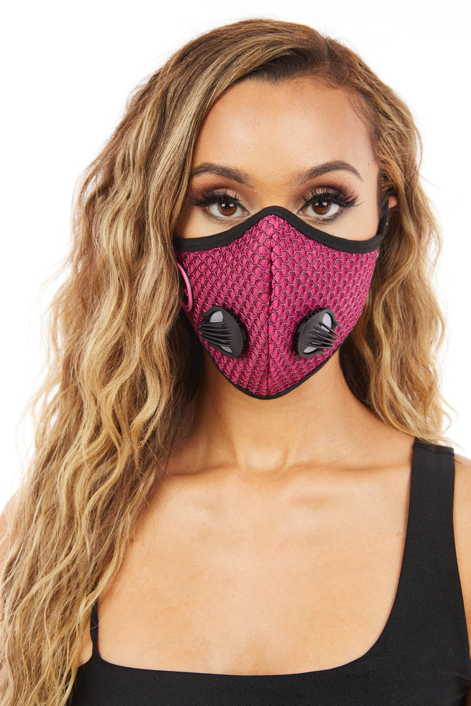 Womens Face Mask (Pink)