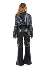Venus Leather Jacket (Black)