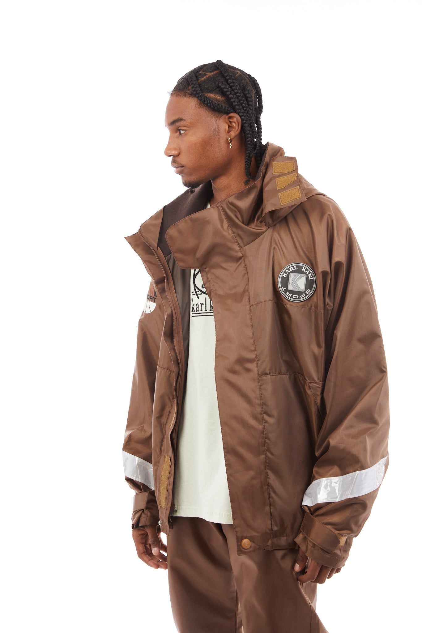 Leo Windbreaker (Brown)