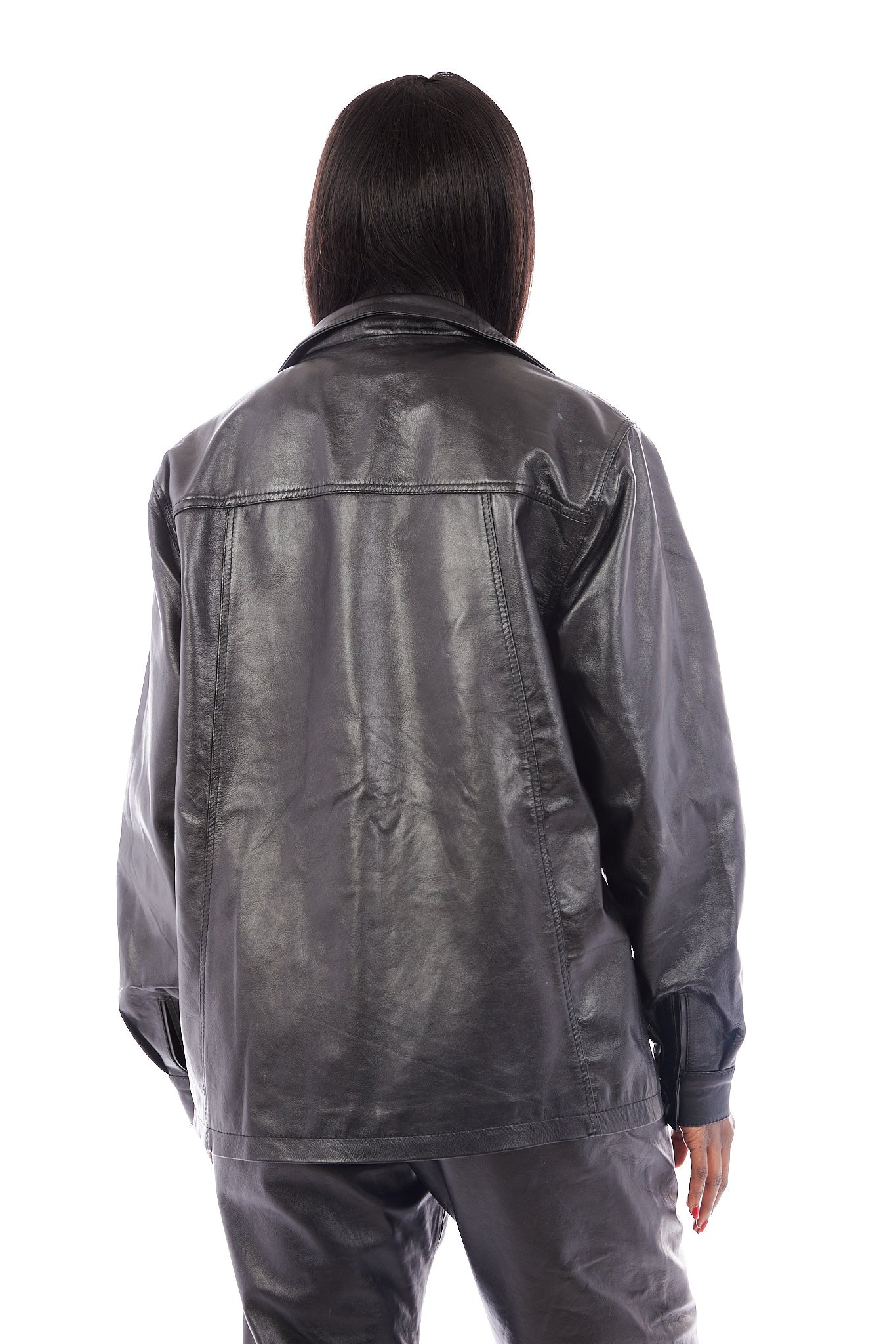 Claremont Leather Top