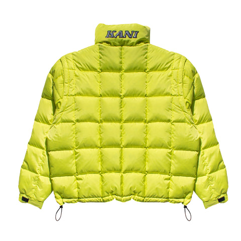 Kani Bubble Coat (Neon Yellow)