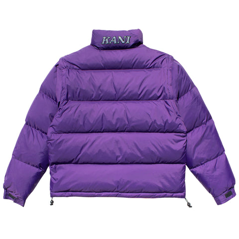 Kani Bubble Coat (Purple)