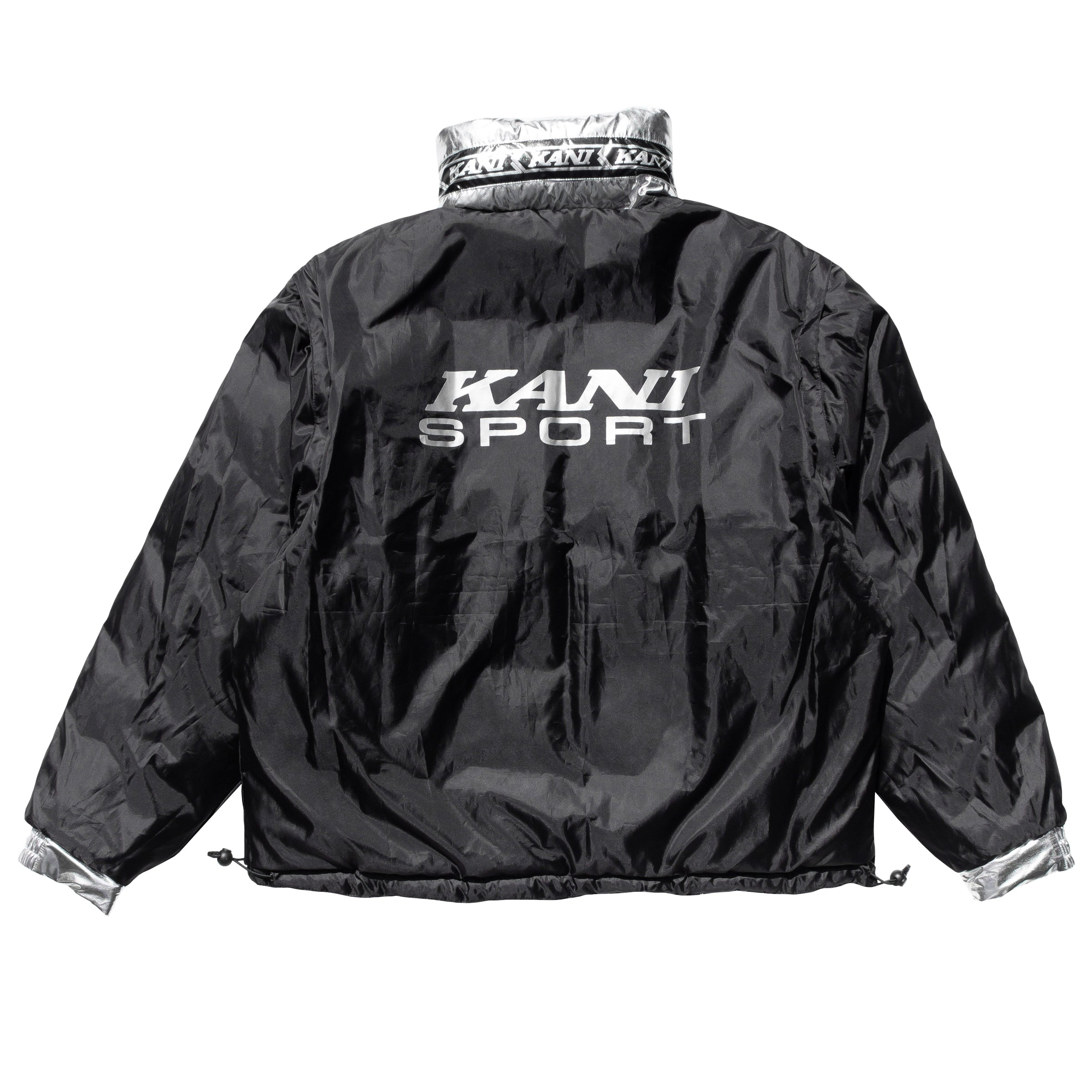Kani Bubble Coat (Silver)