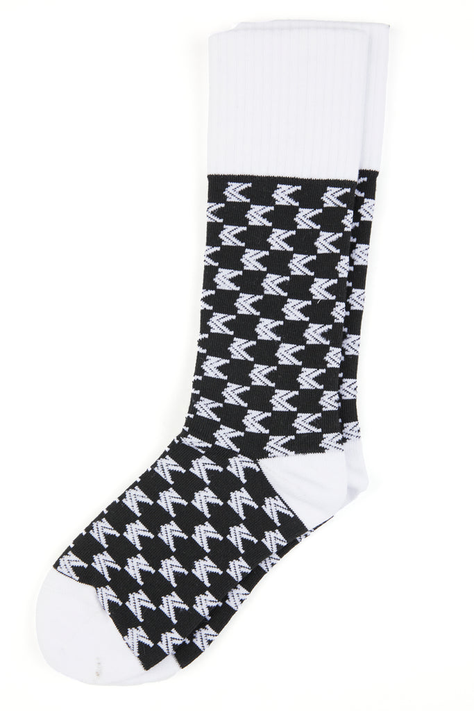 All Over Socks (Black)