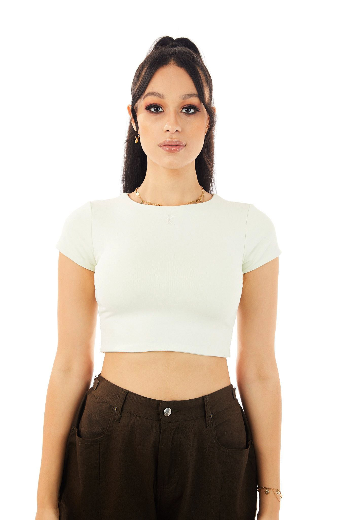 Nova Crop Top (Icicle)