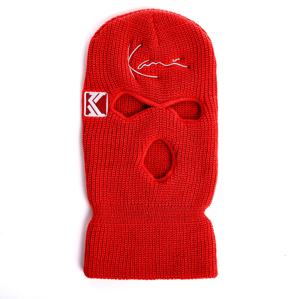Duct Tape Ski Mask (Red)