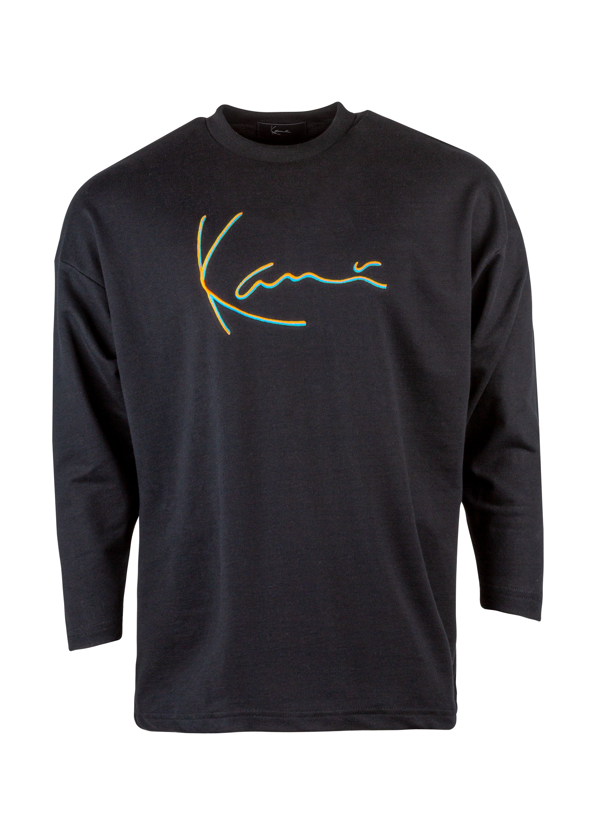 Iconic Long Sleeve Tee (Black)
